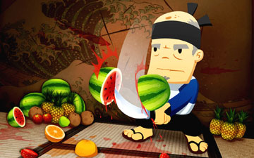 Fruit Ninja HD на android