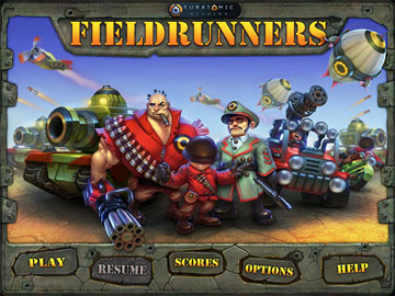 Fieldrunners HD на android