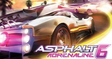 Asphalt 6 Adrenaline HD на android