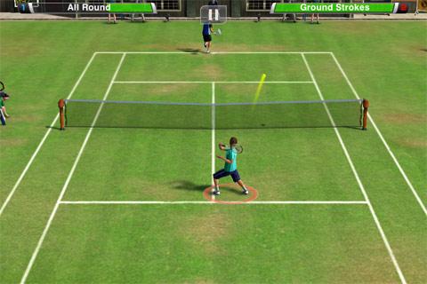 Виртуальный теннис