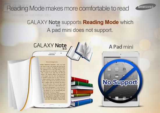 Что лучше iPad Mini или Galaxy Note 8.0?