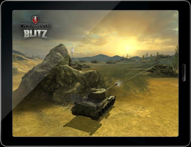 Скоро на планшетах страны — «World of Tank Blitz»