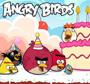 скачать Злые птички: День рождения на android