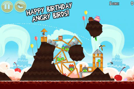 Злые птички: День рождения