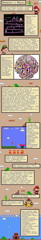 История Марио в картинках на android