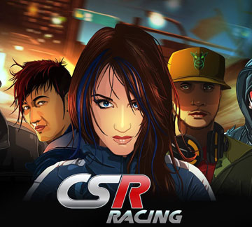 CSR Racing на android