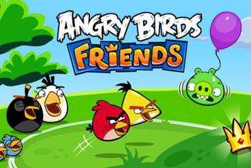 Злые птички friends на android