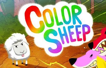 скачать Цветные овечки на android