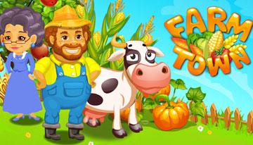 скачать Farm Town на android