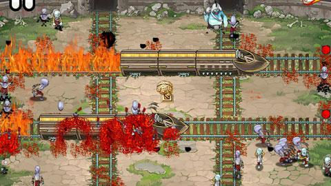 Зомби и поезда