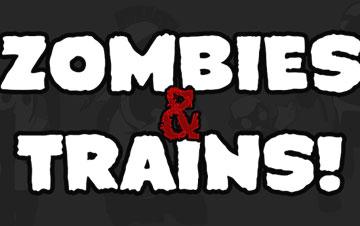 Зомби и поезда на android