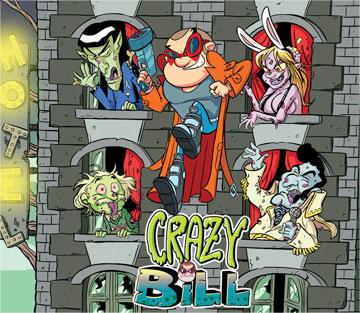 скачать Crazy Bill: Zombie Stars Hotel на android