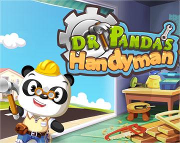 Панда-умелец на android