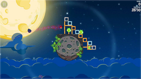 Angry Birds в космосе