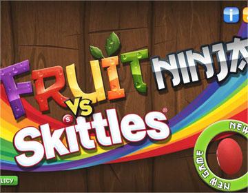 Fruit Ninja Skittles на android