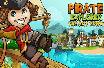 Pirate Explorer: The Bay Town на android
