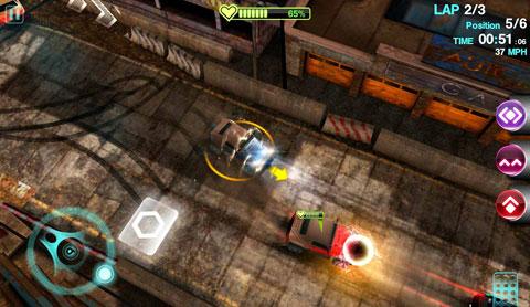 Пошаговое руководство для Blur Racing Игра. VitalityGames.com