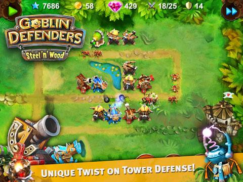 Goblin Defenders: Steel'n'Wood
