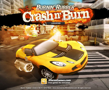скачать Burnin' Rubber Crash n' Burn на android