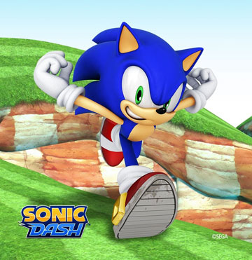 Sonic Dash на android