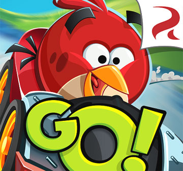 Angry Birds Go на android