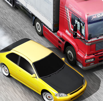 Traffic Racer на android