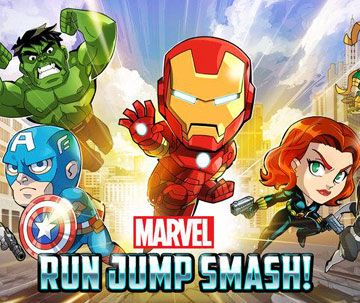 скачать Marvel Run Jump Smash на android