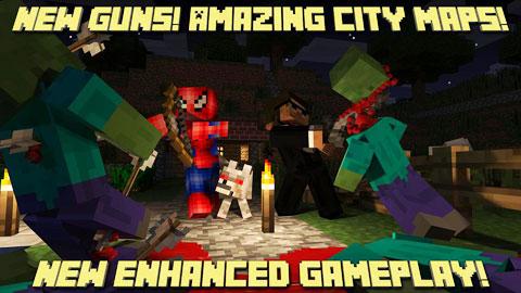Block Clans - Pixel World Gun