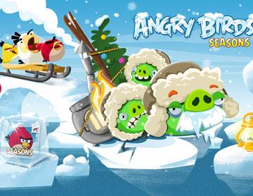 скачать Angry Birds Seasons: Арктическая экспедиция на android