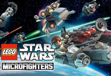 скачать LEGO Star Wars Microfighters на android
