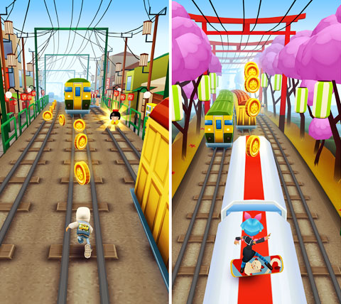 Subway Surf Tokuo Android 2.1