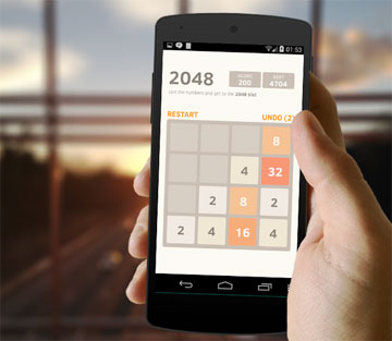 2048 на android