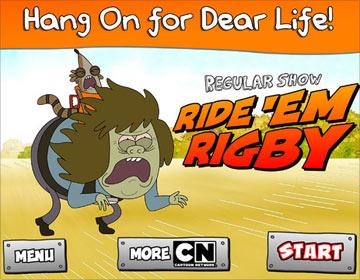 скачать Ride 'Em Rigby на android