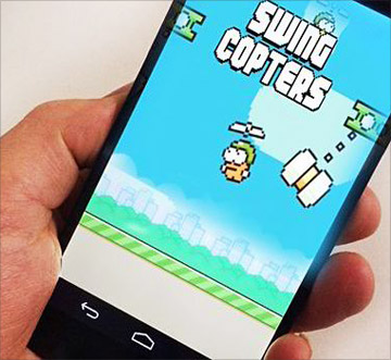 скачать Swing Copters на android