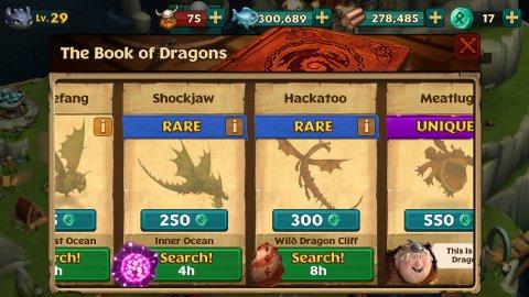 как приручить дракона 2 на андроид
