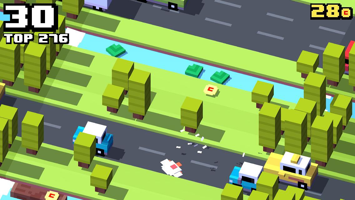 Игры на андроид crossy road 2 crossy