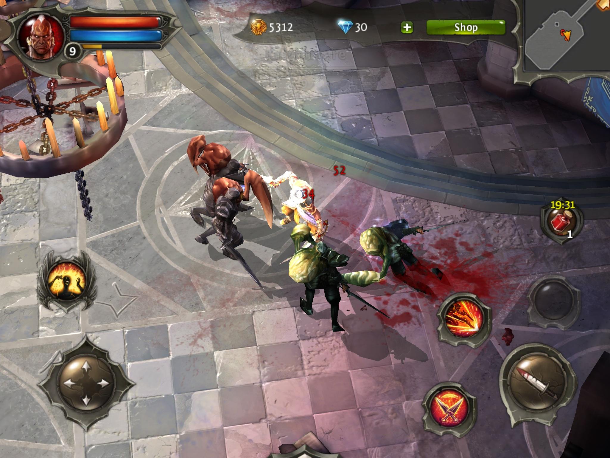 скачать на андроид dungeon hunter