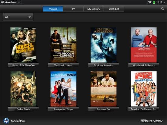 Фильмы на планшете
