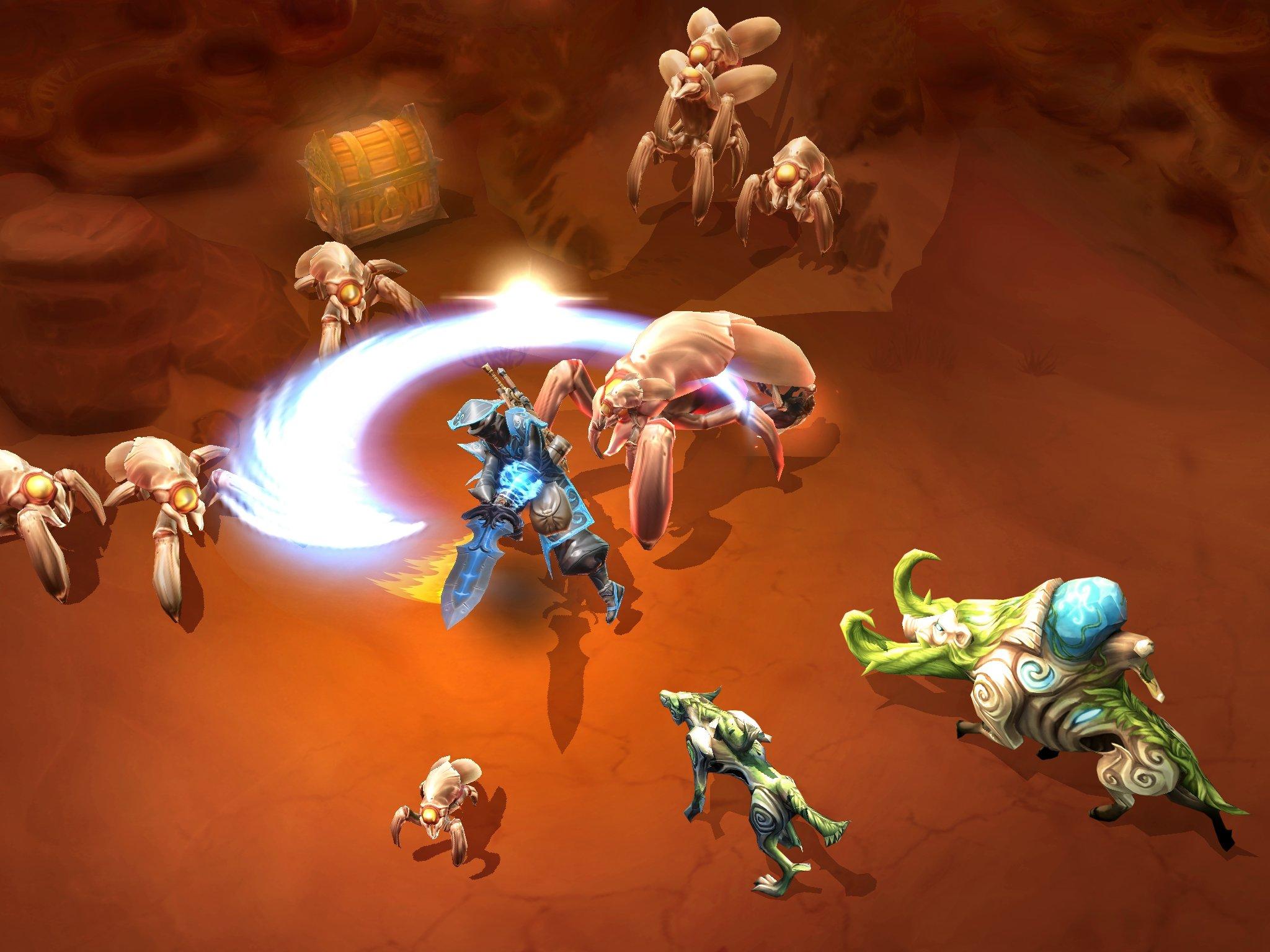 Dungeon hunter игра на андроид следующее дате …