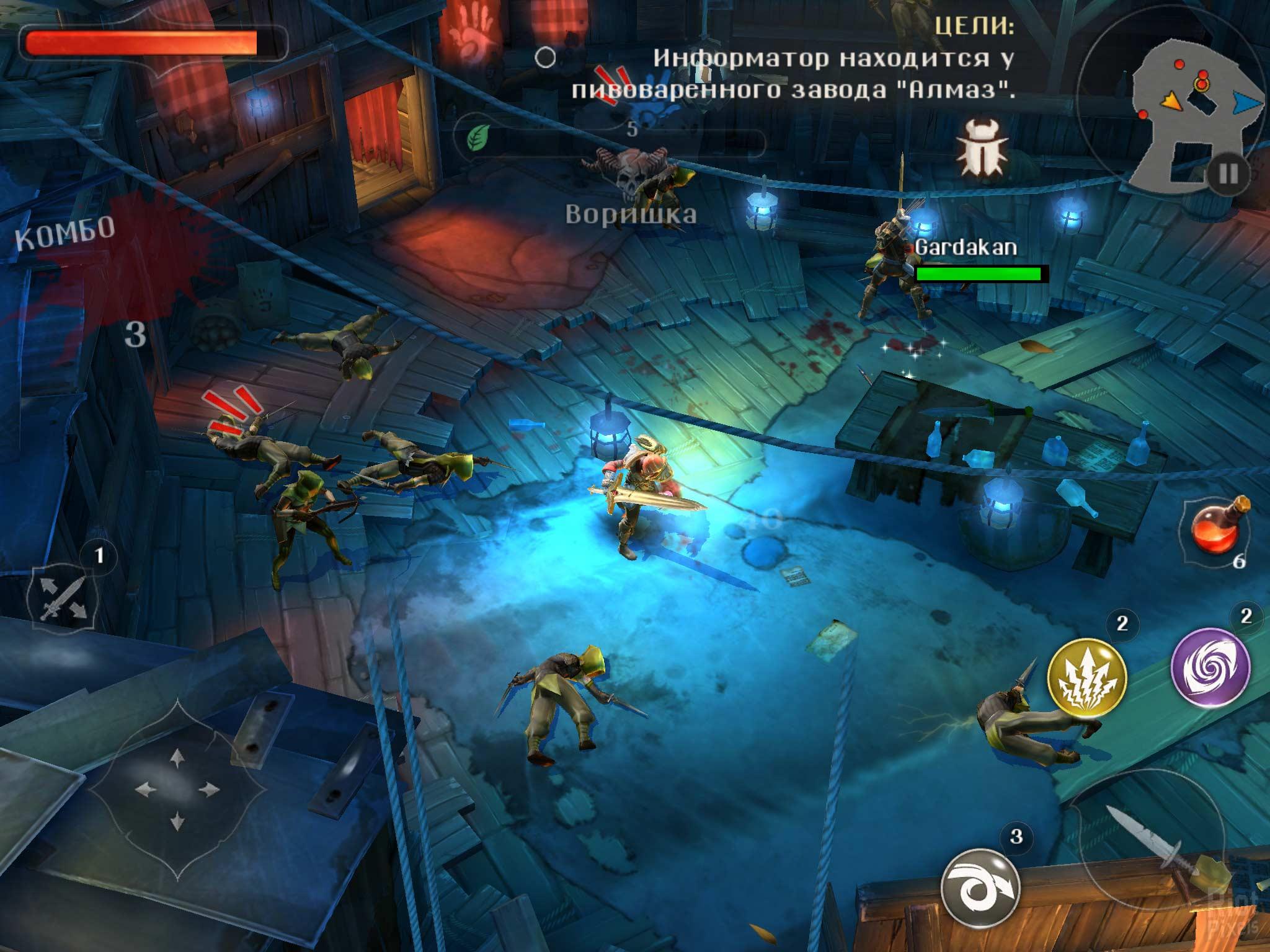 Скачать Dungeon Hunter 5 на Андроид бесплатно