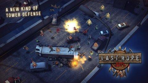 Last Hope — Heroes Zombie TD
