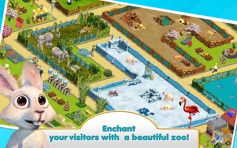 Андроид планшет зоопарк ферма для