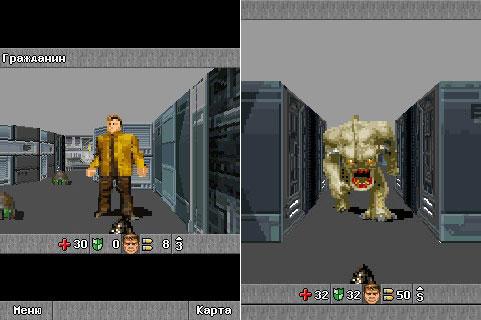 Doom RPG скачать на андроид  Дум РПГ для андроид — порт с java