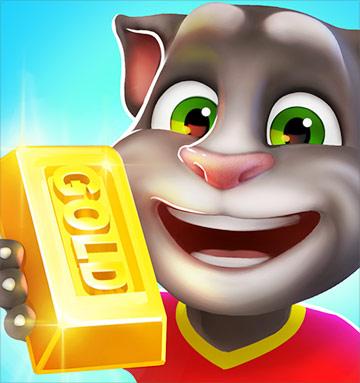 Кот бегает за золотом скачать