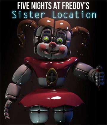 Пять Ночей с Фредди: Сестринская Локация