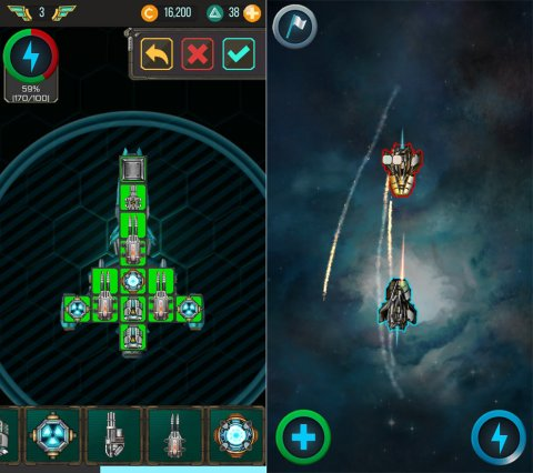 Space Arena: build and fight